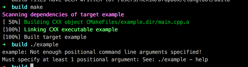 Build your own clang example outside of the llvm source tree